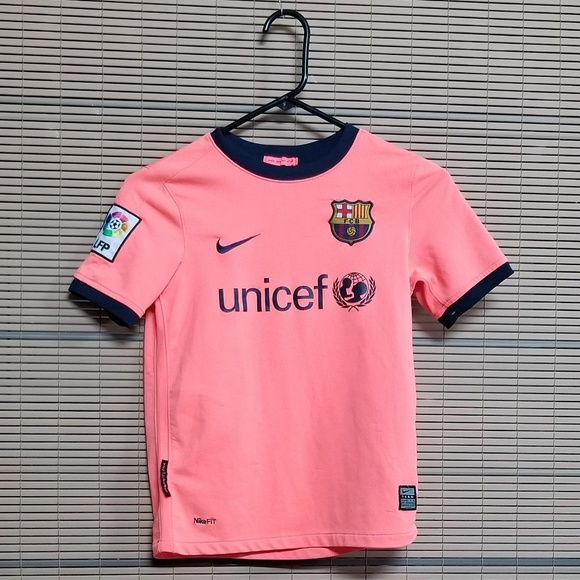 watch 3dd76 56586 Nike Fit Dry Kids Messi #10 Jersey SIZE: S